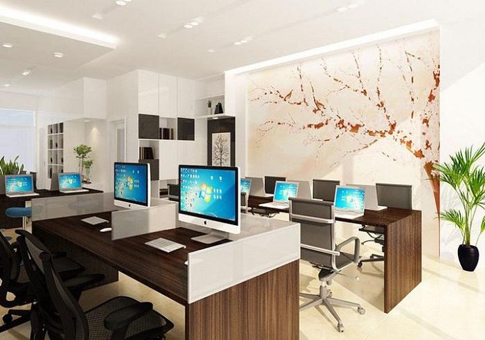 Tổng thể dự án thiết kế văn phòng 70m2 hiện đại đến từng góc nhìn