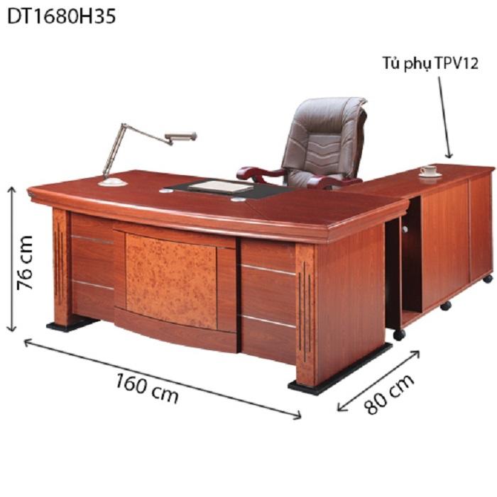 Bảng báo giá thi công nội thất bàn giám đốc bằng gỗ cho văn phòng tính theo m2