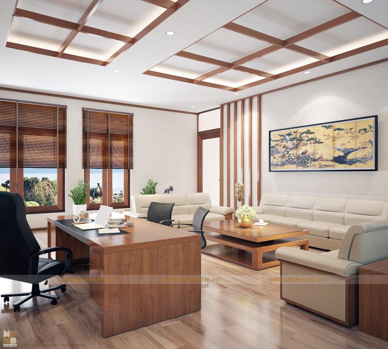 Thiết kế nội thất phòng làm việc quan trọng nhất trong công ty