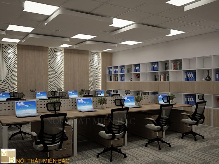 Thiết kế văn phòng hiện đại đảm bảo tính thẩm mỹ