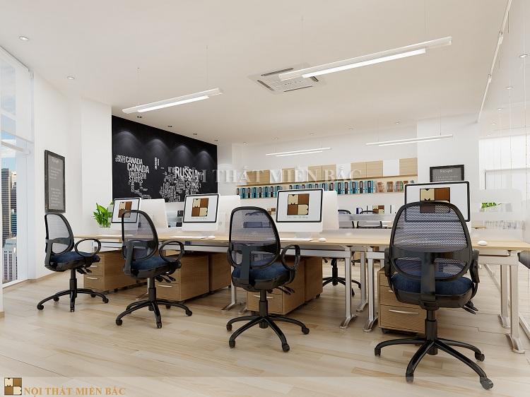 Thiết kế văn phòng VPMB04 - phòng làm việc2
