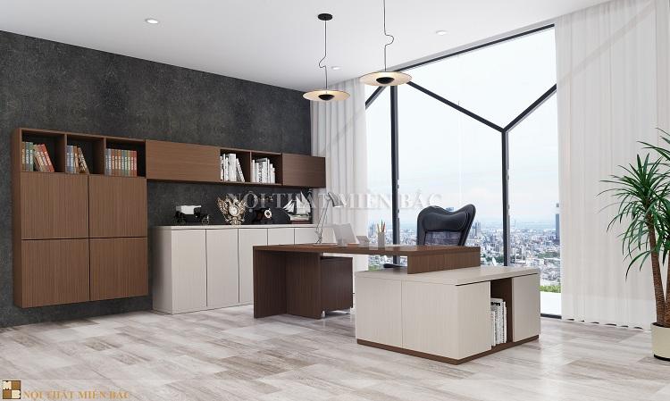 Thiết kế nội thất văn phòng cao cấp VPMB05 - phòng giám đốc