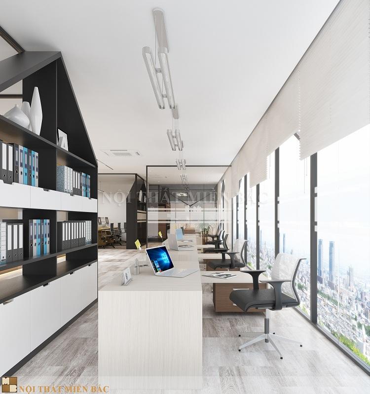 Thiết kế nội thất văn phòng cao cấp VPMB05 - phòng làm việc 2
