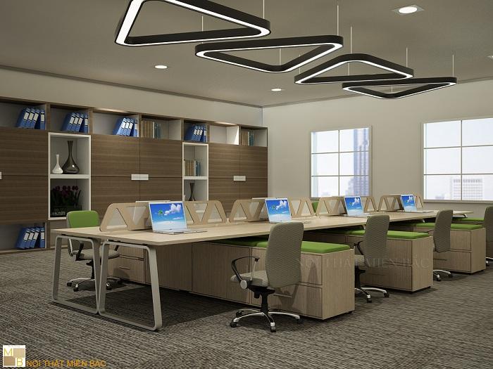Thiết kế nội thất văn phòng hiện đại theo xu hướng mở