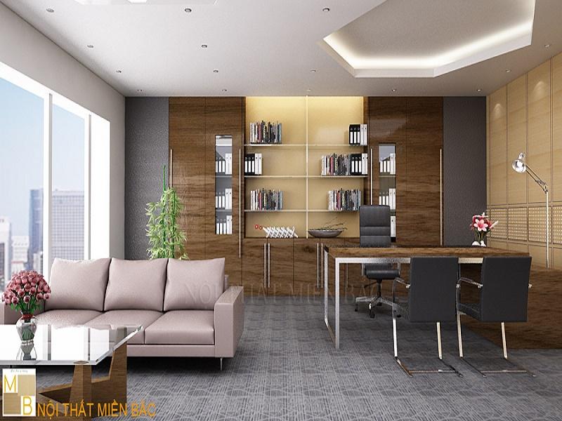 Ghế giám đốc nội thất quan trọng với thiết kế phòng giám đốc
