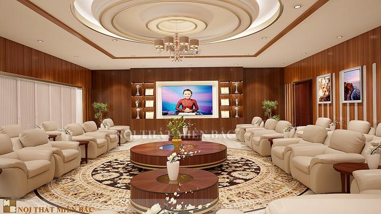Tư vấn thiết kế nội thất khánh tiết sang trọng, cao cấp