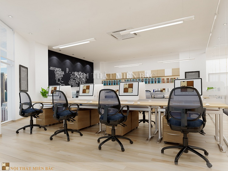 Mẫu thiết kế văn phòng đảm bảo tính thẩm mỹ