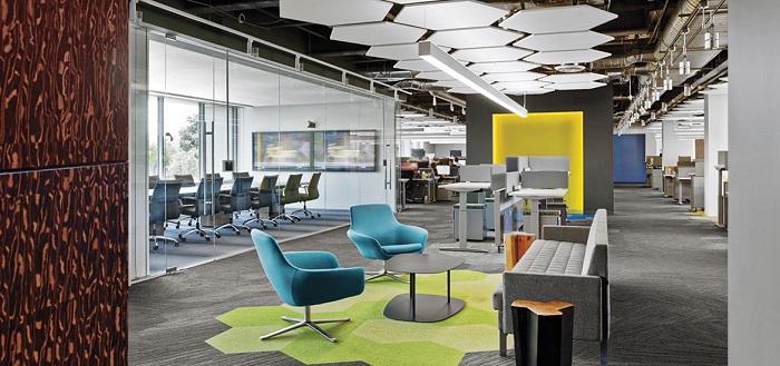 5+ ý tưởng thiết kế văn phòng 90m2 hiện đại và chuyên nghiệp - H1