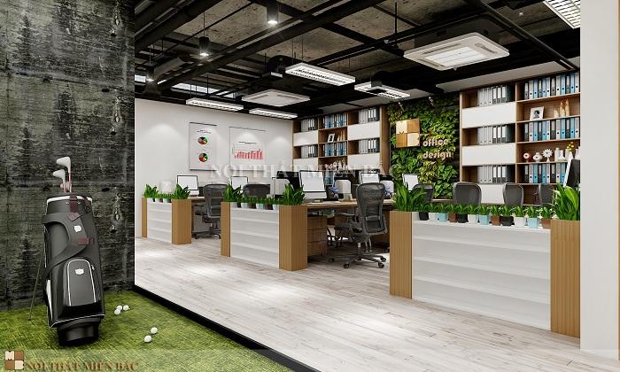 Mẫu thiết kế nội thất văn phòng chuyên nghiệp và hiện đại