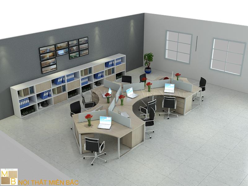 Văn phòng đầy hiện đại tiện nghi