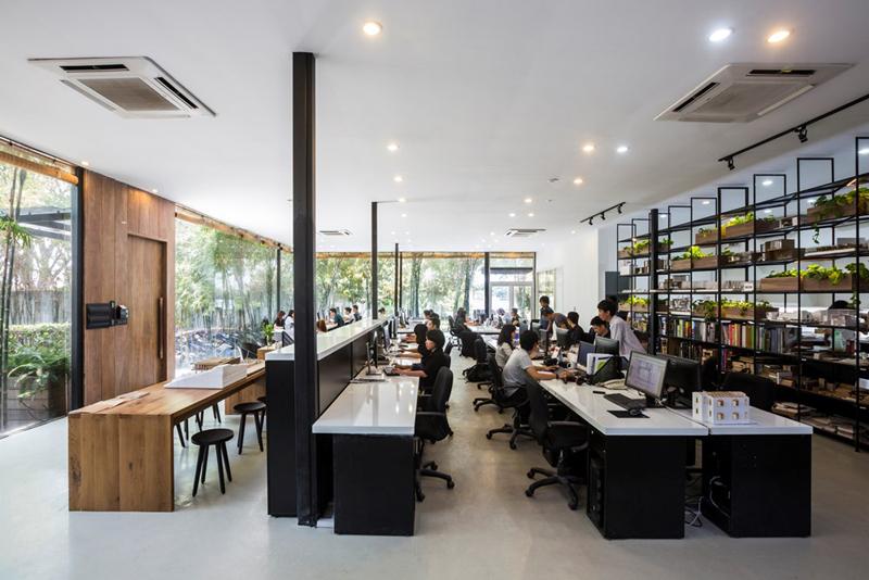 Lựa chọn công ty thiết kế văn phòng tại Hà Nội